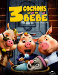 3 cochons et un bébé