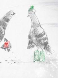 Les moineaux sont des bébés pigeons